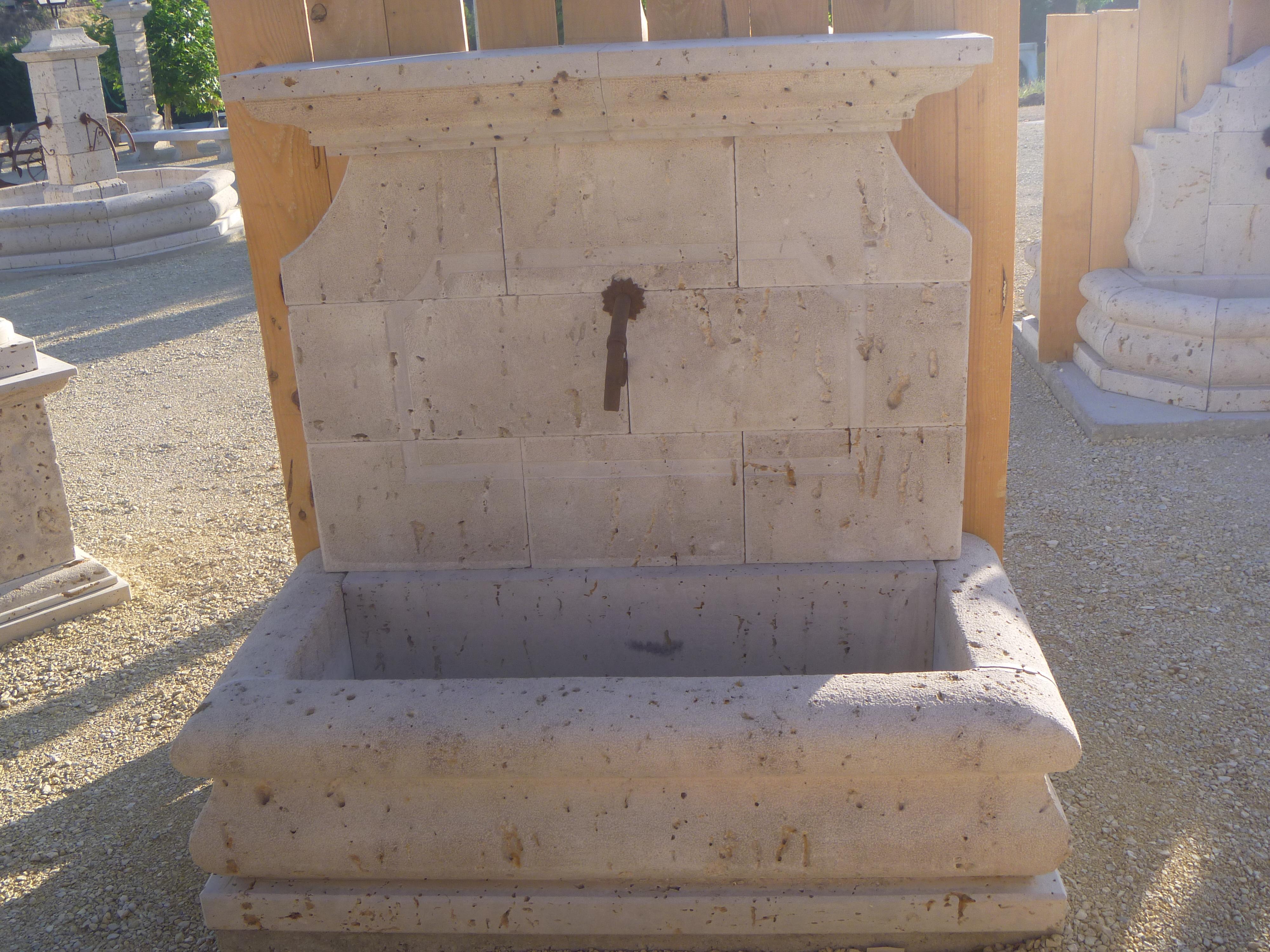 Fuente Pared Fp21 Marmoles Granitos Y Piedra Natural Hermanos Salazar - Fuentes-de-piedra-de-pared