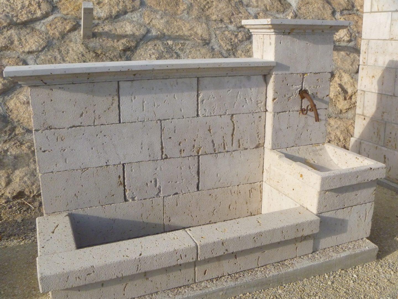 Fuente pared fpp9 m rmoles granitos y piedra natural hermanos salazar - Fuentes de pared de piedra ...