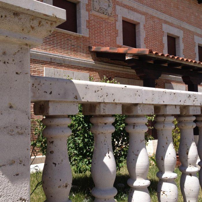 Balaustradas secci n circular m rmoles granitos y - Balaustradas de piedra ...