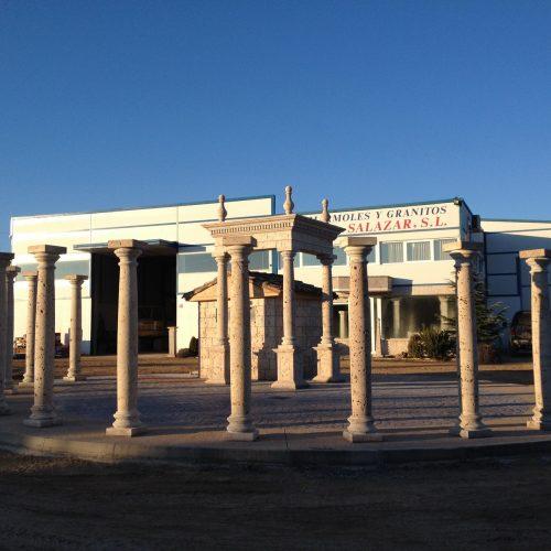 Turned columns